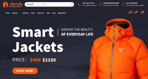 Example of a good online shop design