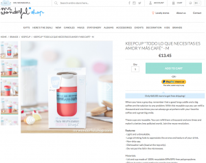 MrWonderful product listings in your online shop